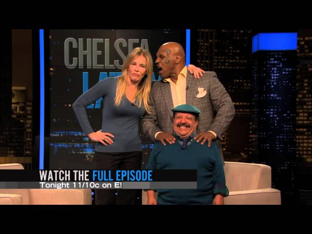 Watch Chelsea Lately Season  - Tonight, Mike Tyson talks Chelsea's ear off Online