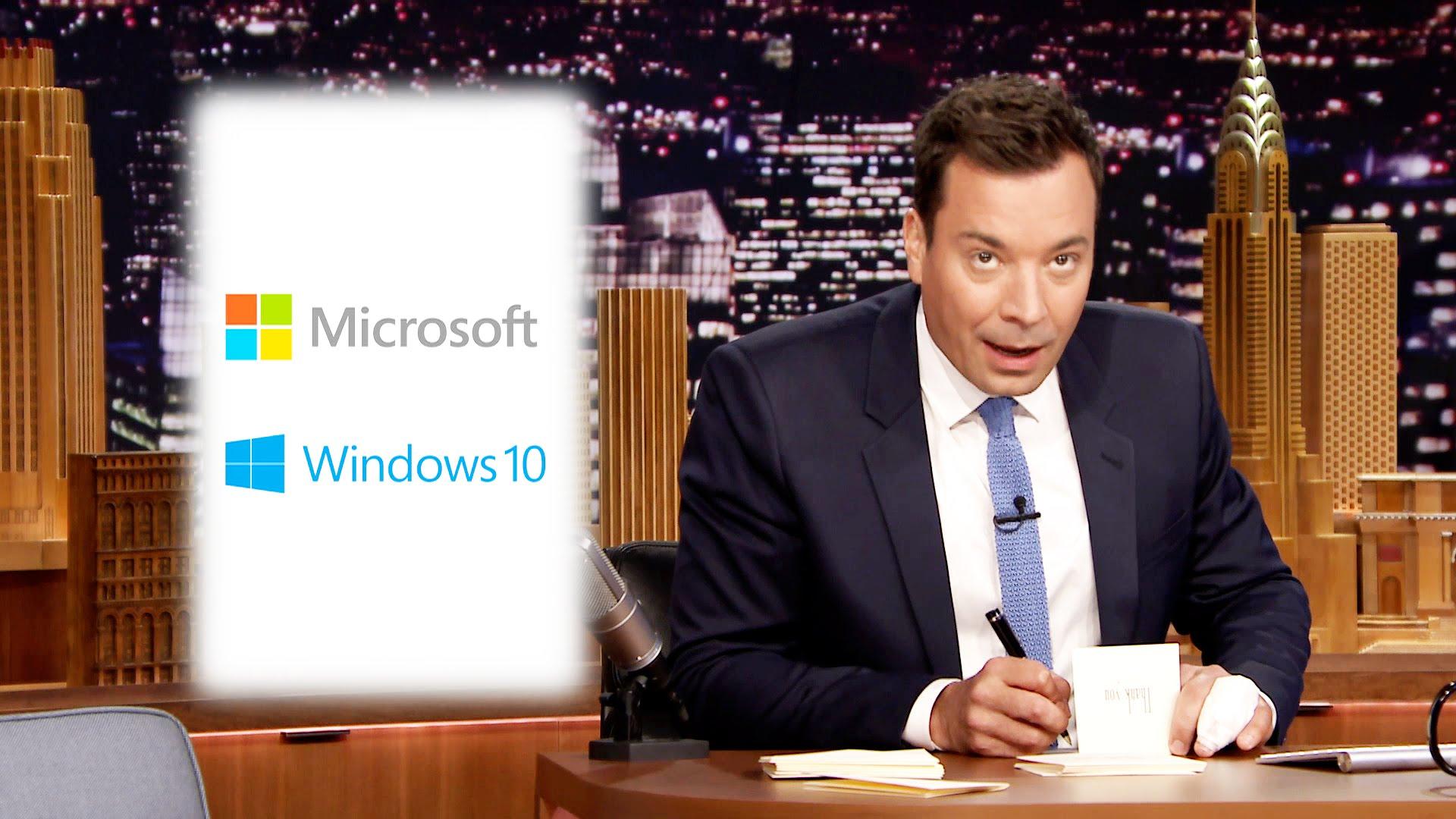 Watch Late Night with Jimmy Fallon Season  - Thank You Notes: Microsoft, Au Bon Pain Online