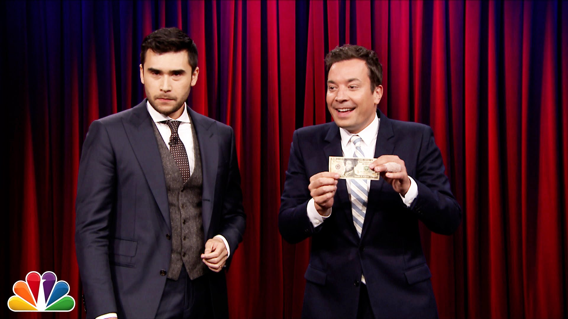 Watch Late Night with Jimmy Fallon Season  - Magician Dan White Plays Hand Pocket with Jimmy Fallon Online