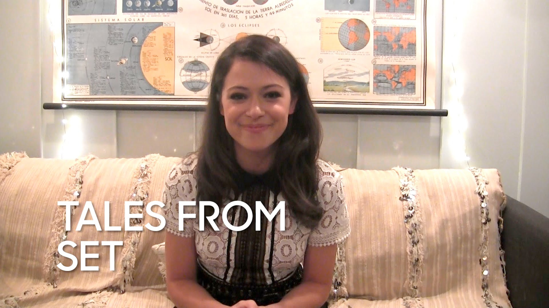 Watch Late Night with Jimmy Fallon Season  - Tales from Set: Tatiana Maslany on