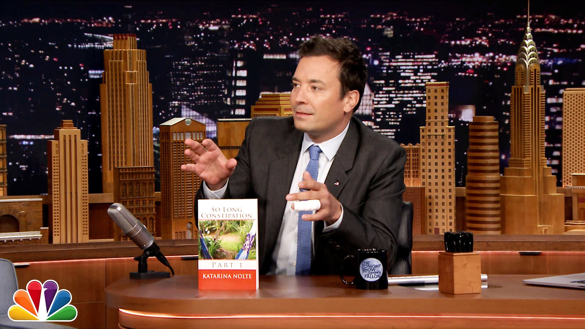 Watch Late Night with Jimmy Fallon Season  - Do Not Read: So Long Constipation, Part 1 Online