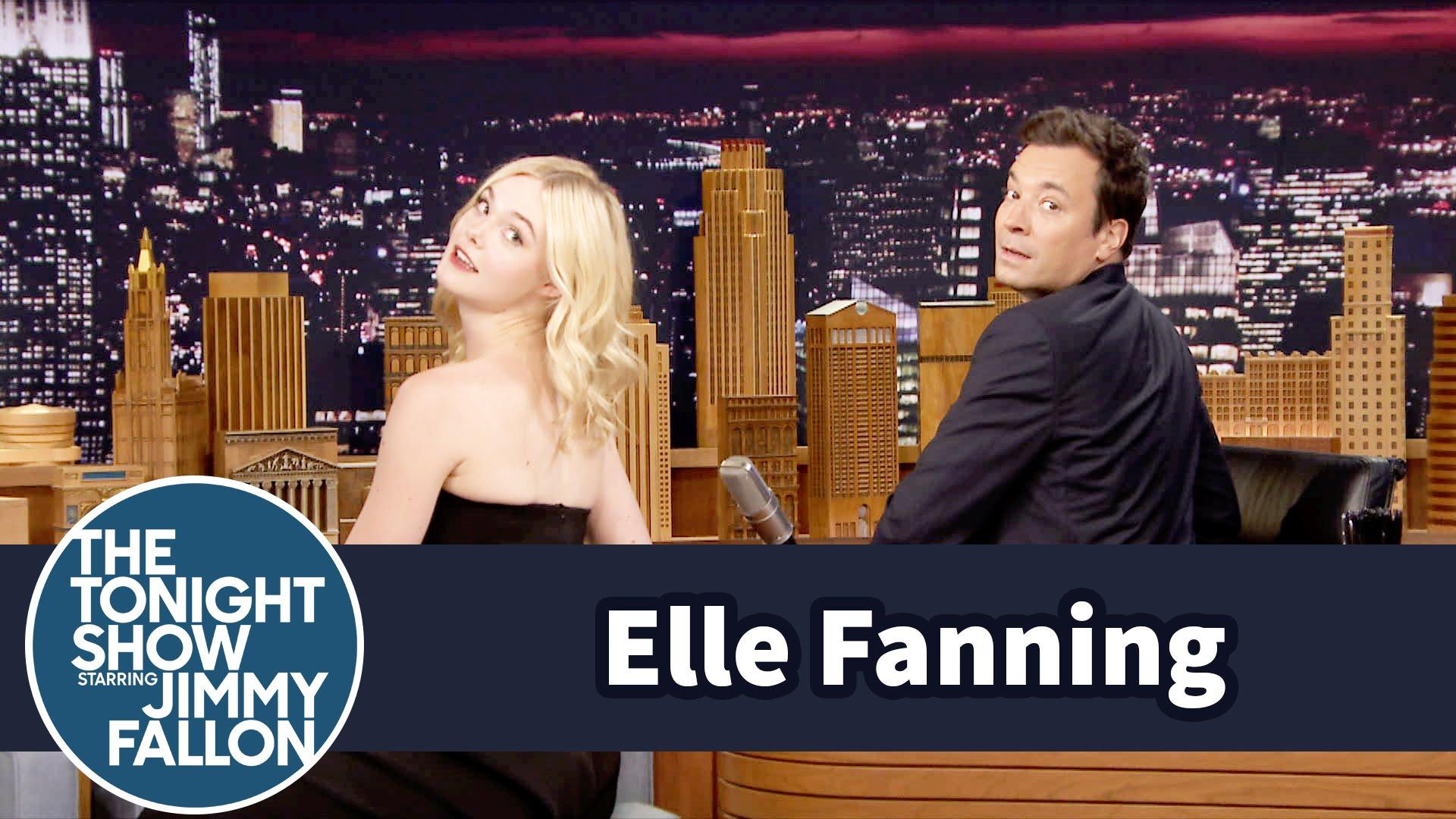 Watch Late Night with Jimmy Fallon Season  - Elle Fanning Demos Her Senior Portrait Beauty Shot Online
