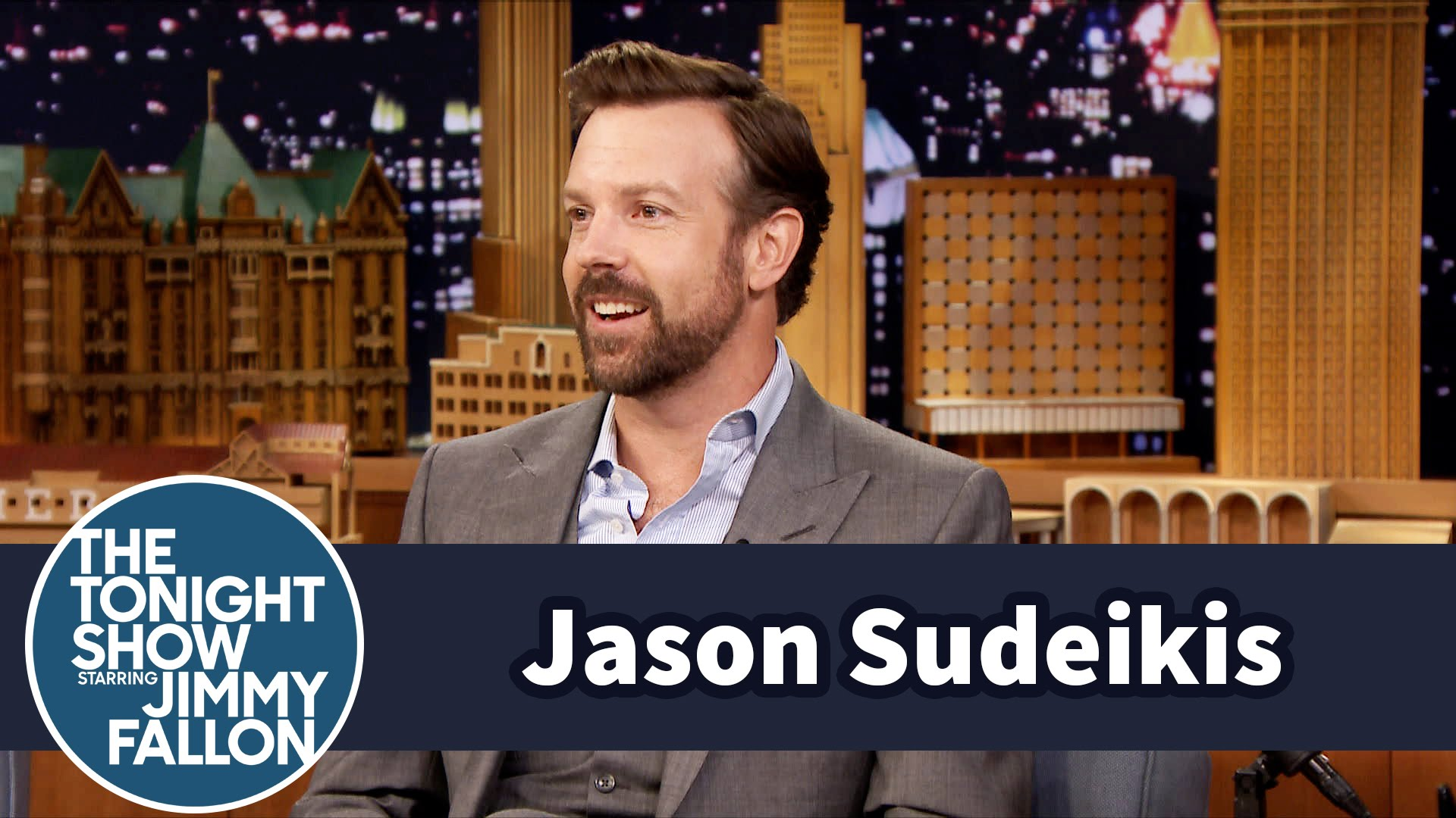 Watch Late Night with Jimmy Fallon Season  - Jason Sudeikis' Toddler Son Loves to Slam Dunk Online