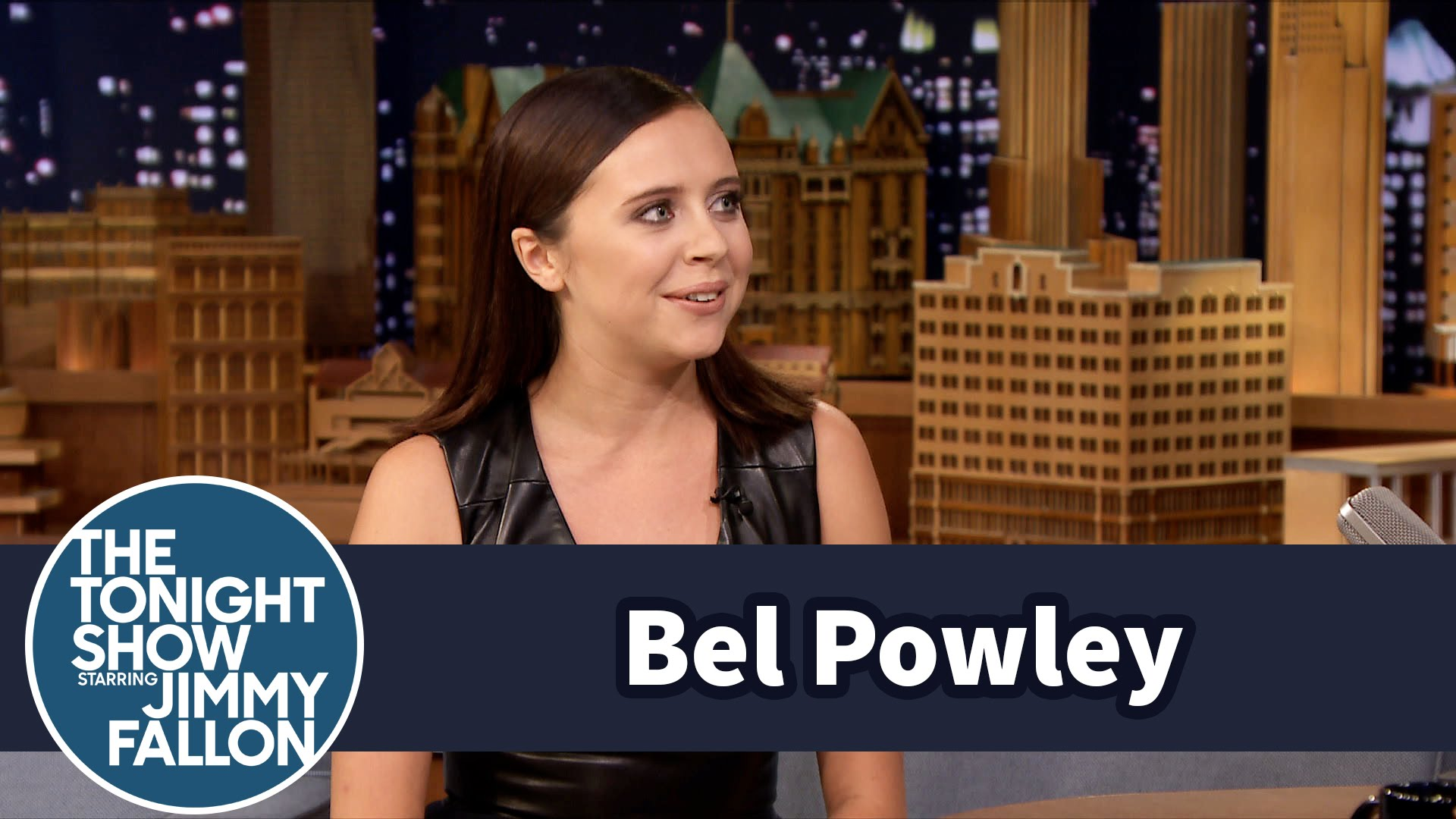Watch Late Night with Jimmy Fallon Season  - Bel Powley Shares Her Favorite American Word Online