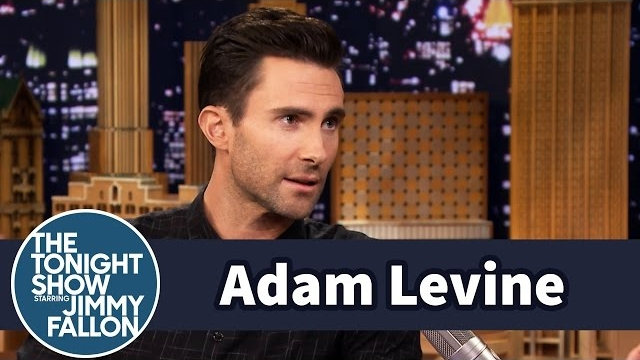 Watch Late Night with Jimmy Fallon Season  - Adam Levine Helped Gwen Stefani Pronounce Colbert Online