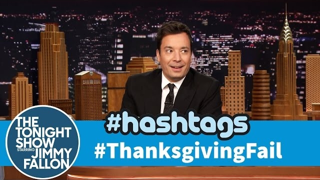 Watch Late Night with Jimmy Fallon Season  - Hashtags: #ThanksgivingFail Online