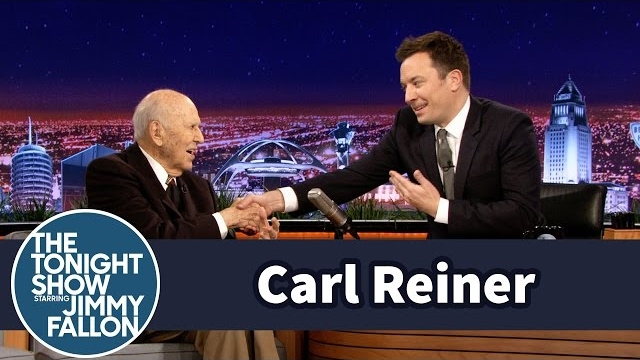 Watch Late Night with Jimmy Fallon Season  - Carl Reiner Recreates His First TV Appearance Online