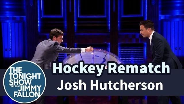 Watch Late Night with Jimmy Fallon Season  - Josh Hutcherson and Jimmy Have a Hockey Rematch Online