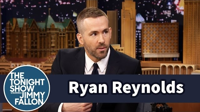 Watch Late Night with Jimmy Fallon Season  - Ryan Reynolds' Baby Girl Is Allergic to Sleep Online