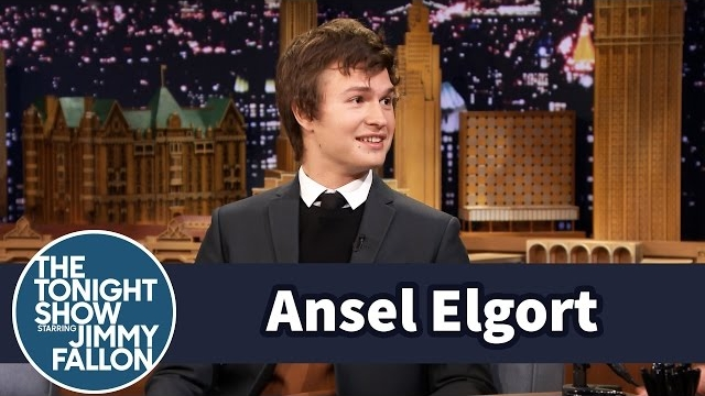 Watch Late Night with Jimmy Fallon Season  - Ansel Elgort's Mom Embarrassed Him in Front of Bruce Willis Online