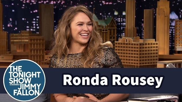 Watch Late Night with Jimmy Fallon Season  - Ronda Rousey Demonstrates Infamous Armbar on Jimmy Online