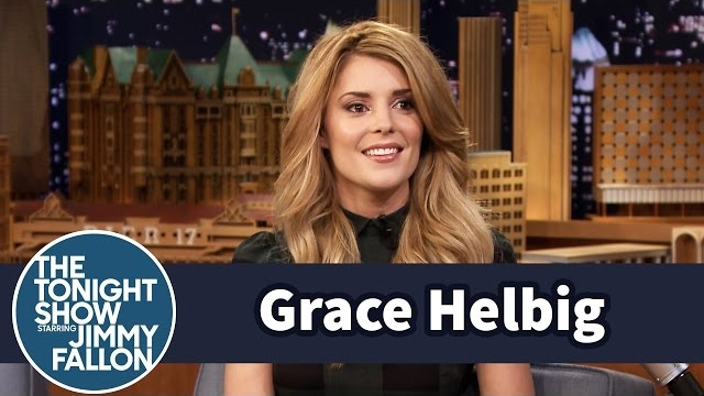 Watch Late Night with Jimmy Fallon Season  - How Grace Helbig's Mom Scared Her Straight as a Child Online