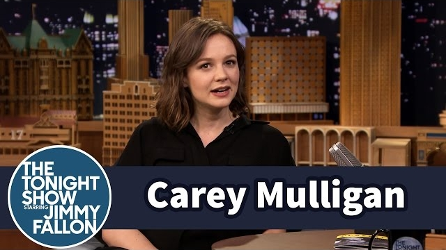 Watch Late Night with Jimmy Fallon Season  - Carey Mulligan's First Trip to America Included a Trip to Hooters Online