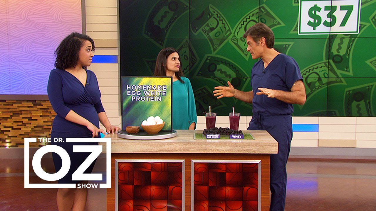 Watch The Dr. Oz Show Season  - Dr. Oz Learns How to Make Egg White Protein Powder Online