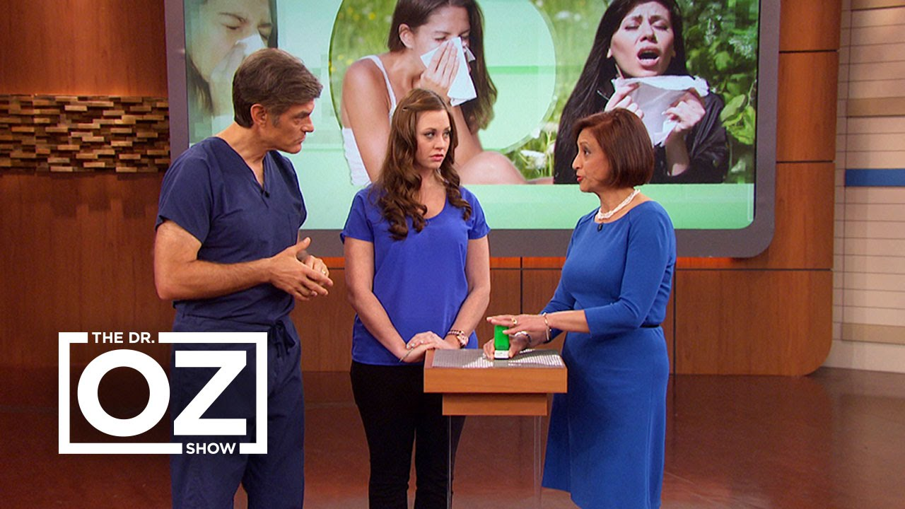 Watch The Dr. Oz Show Season  - Dr. Oz Compares the Symptoms of a Cold and Allergies Online