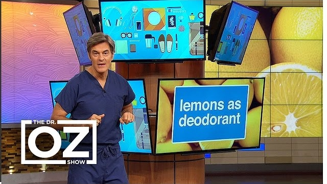 Watch The Dr. Oz Show Season  - Dr. Oz Shows How to Use Lemons as Deodorant and Dandruff Treatment Online