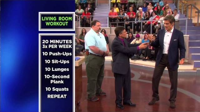 Watch The Dr. Oz Show Season  - Dr. Oz Demonstrates an At-Home Resistance Training Program Online