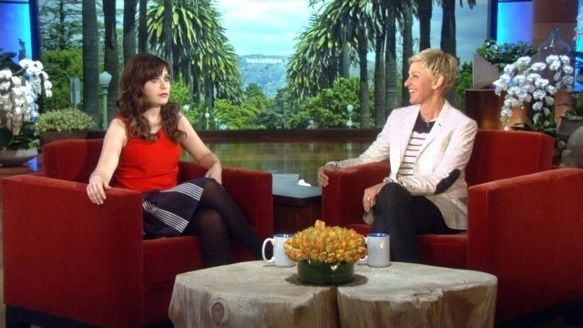 Watch The Ellen DeGeneres Show  Season  - Zooey Deschanel Crashes Ellen's Party Online