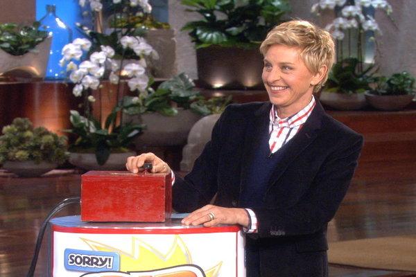 Watch The Ellen DeGeneres Show  Season  - Sorry Spin All-Stars! Online