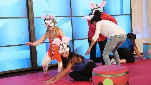 Watch The Ellen DeGeneres Show  Season  - Blindfolded Musical Bunnies Online