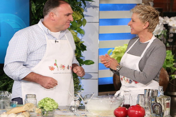 Watch The Ellen DeGeneres Show  Season  - Jos Andrs Gets Smokin' Online