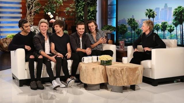 Watch The Ellen DeGeneres Show  Season  - One Direction Catches Up with Ellen Online