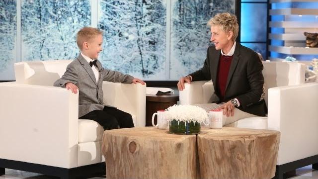 Watch The Ellen DeGeneres Show  Season  - This Kid Loves James Bond Online
