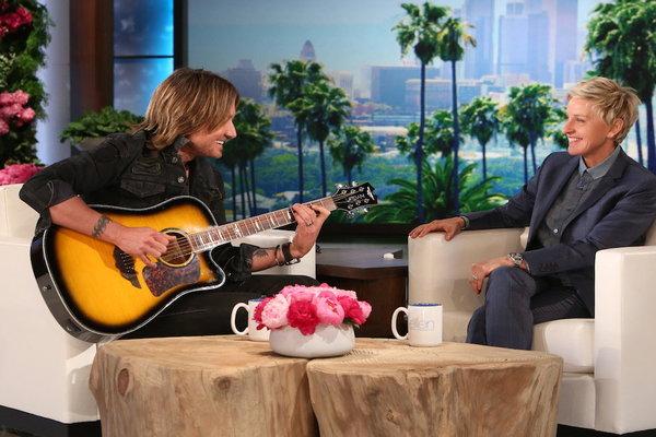 Watch The Ellen DeGeneres Show  Season  - Keith Urban Serenades Ellen Online