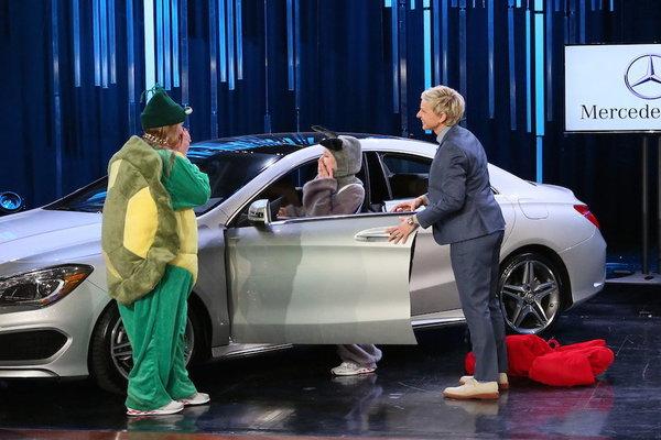 Watch The Ellen DeGeneres Show  Season  - Who Will Win a Mercedes-Benz?! Online