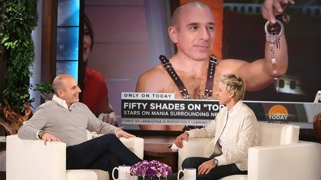 Watch The Ellen DeGeneres Show  Season  - Matt Lauer Confronts Ellen About Her '50 Shades' Prank Online