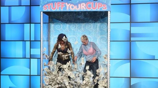 Watch The Ellen DeGeneres Show  Season  - Ellen and Halle Berry Stuff Their Cups Online
