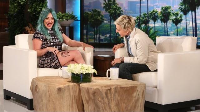 Watch The Ellen DeGeneres Show  Season  - Hilary Duff on Her Eye-Catching Instagram Photo Online