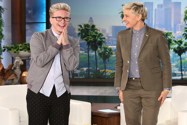Watch The Ellen DeGeneres Show  Season  - Tyler Oakley Is Here! Online