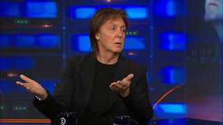 Watch The Daily Show with Jon Stewart Season 18 Episode 356 - Paul McCartney Online